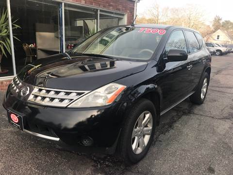 2007 Nissan Murano for sale at MBM Auto Sales and Service - MBM Auto Sales/Lot B in Hyannis MA