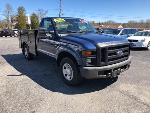2008 Ford F-250 Super Duty for sale at MBM Auto Sales and Service - MBM Auto Sales/Lot B in Hyannis MA