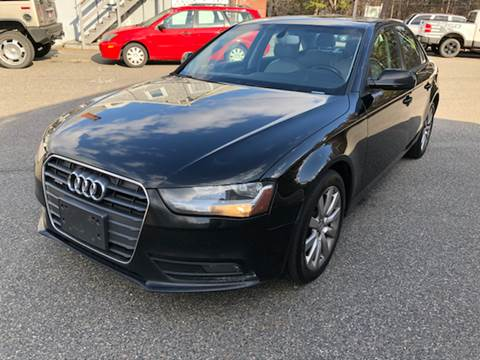 2013 Audi A4 for sale at MBM Auto Sales and Service - MBM Auto Sales/Lot B in Hyannis MA