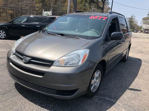 2005 Toyota Sienna for sale at MBM Auto Sales and Service - Lot A in East Sandwich MA