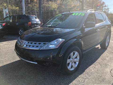 2007 Nissan Murano for sale at MBM Auto Sales and Service - Lot A in East Sandwich MA