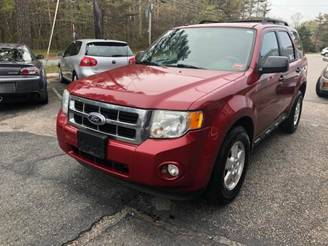 2010 Ford Escape for sale at MBM Auto Sales and Service - Lot A in East Sandwich MA