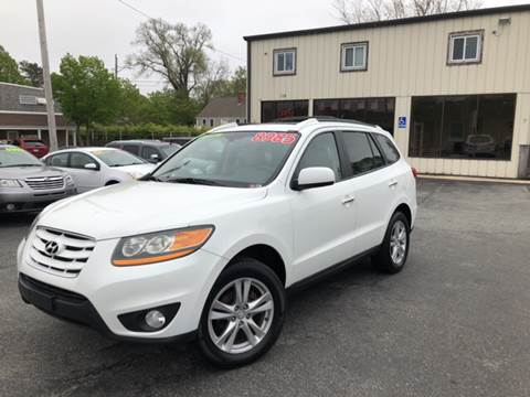 2010 Hyundai Santa Fe for sale at MBM Auto Sales and Service - MBM Auto Sales/Lot B in Hyannis MA