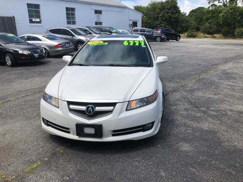 2008 Acura TL for sale at MBM Auto Sales and Service - MBM Auto Sales/Lot B in Hyannis MA