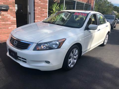 2008 Honda Accord for sale at MBM Auto Sales and Service in East Sandwich MA