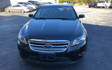 2010 Ford Taurus for sale at MBM Auto Sales and Service - MBM Auto Sales/Lot B in Hyannis MA
