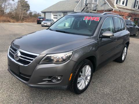 2009 Volkswagen Tiguan for sale at MBM Auto Sales and Service - MBM Auto Sales/Lot B in Hyannis MA