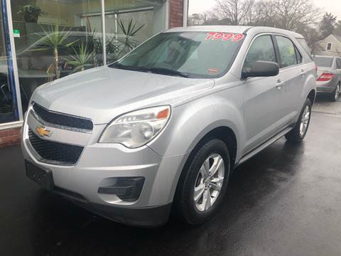 2012 Chevrolet Equinox for sale at MBM Auto Sales and Service - MBM Auto Sales/Lot B in Hyannis MA