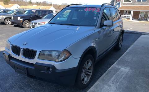 2005 BMW X3 for sale at MBM Auto Sales and Service - MBM Auto Sales/Lot B in Hyannis MA