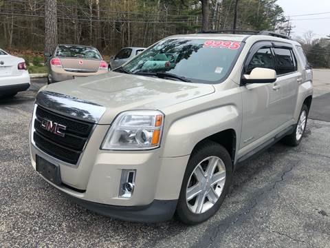 2011 GMC Terrain for sale at MBM Auto Sales and Service in East Sandwich MA