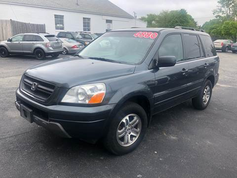 2005 Honda Pilot for sale at MBM Auto Sales and Service in East Sandwich MA