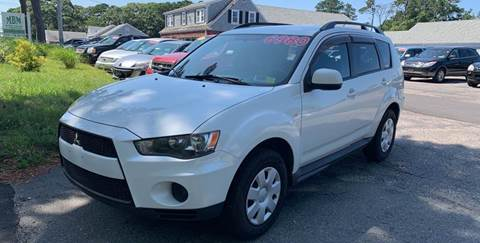 2011 Mitsubishi Outlander for sale at MBM Auto Sales and Service - MBM Auto Sales/Lot B in Hyannis MA