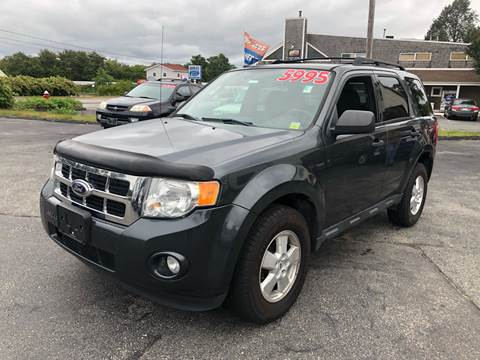 2009 Ford Escape for sale at MBM Auto Sales and Service - MBM Auto Sales/Lot B in Hyannis MA