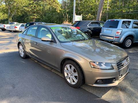 2010 Audi A4 for sale at MBM Auto Sales and Service - Lot A in East Sandwich MA