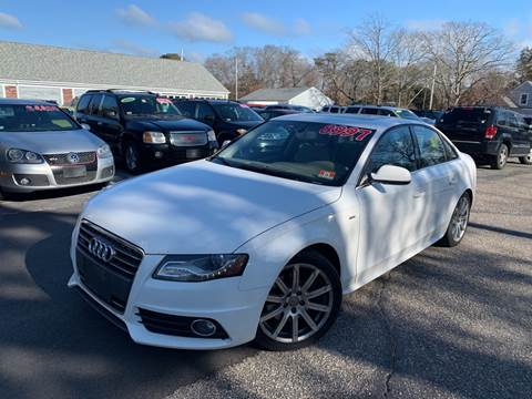 2012 Audi A4 2.0T quattro Premium Plus for sale at MBM Auto Sales and Service - Lot A in East Sandwich MA
