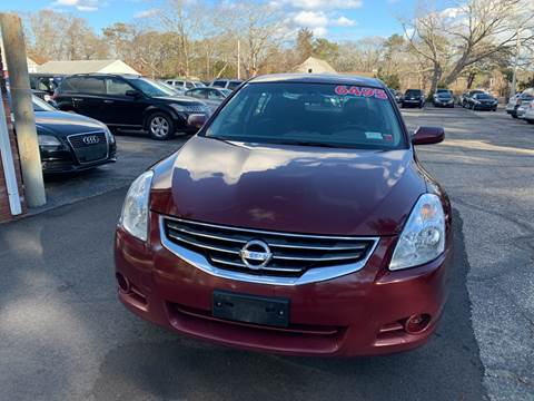 2012 Nissan Altima for sale at MBM Auto Sales and Service in East Sandwich MA