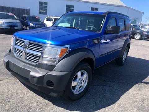 2007 Dodge Nitro SXT for sale at MBM Auto Sales and Service - MBM Auto Sales/Lot B in Hyannis MA