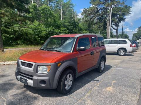 2003 Honda Element for sale at MBM Auto Sales and Service - Lot A in East Sandwich MA