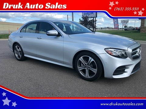 2018 Mercedes-Benz E-Class for sale in Ramsey, MN
