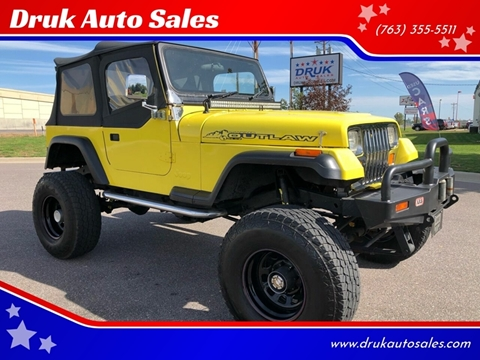 1989 Jeep Wrangler for sale in Ramsey, MN