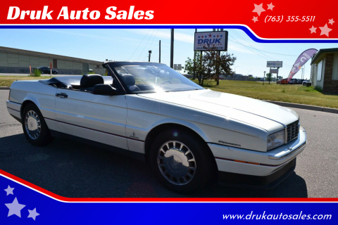 1993 Cadillac Allante for sale at Druk Auto Sales in Ramsey MN