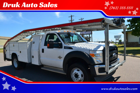 2012 Ford F-550 Super Duty for sale at Druk Auto Sales in Ramsey MN