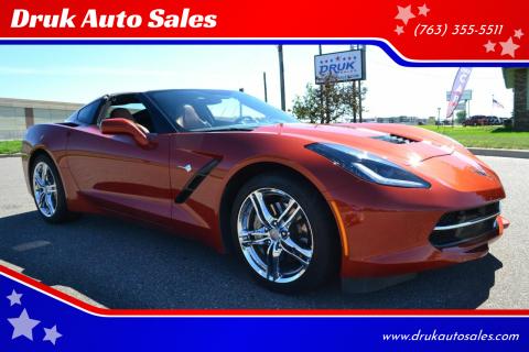 2016 Chevrolet Corvette for sale at Druk Auto Sales in Ramsey MN