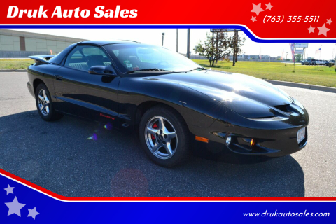 1999 Pontiac Firebird for sale at Druk Auto Sales in Ramsey MN