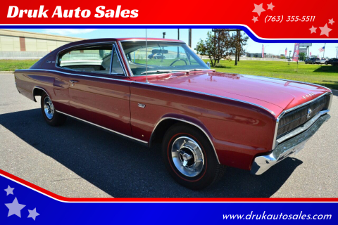 1966 Dodge Charger for sale at Druk Auto Sales in Ramsey MN