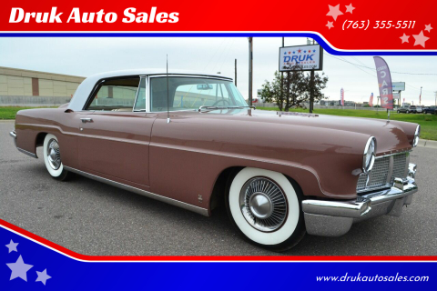 1956 Lincoln Mark II for sale at Druk Auto Sales in Ramsey MN