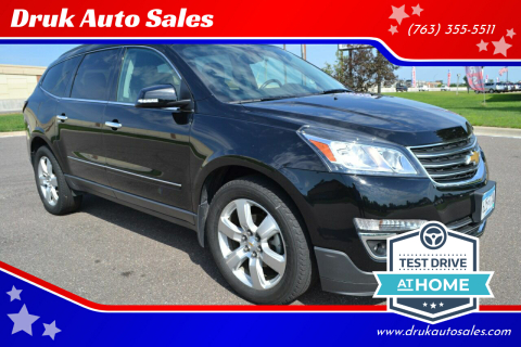 2016 Chevrolet Traverse for sale at Druk Auto Sales in Ramsey MN