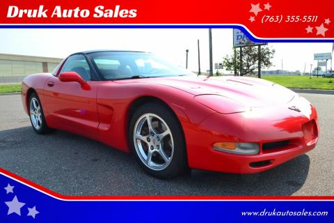 2000 Chevrolet Corvette for sale at Druk Auto Sales in Ramsey MN