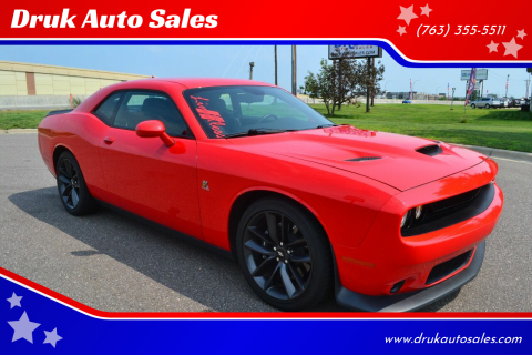 2019 Dodge Challenger for sale at Druk Auto Sales in Ramsey MN