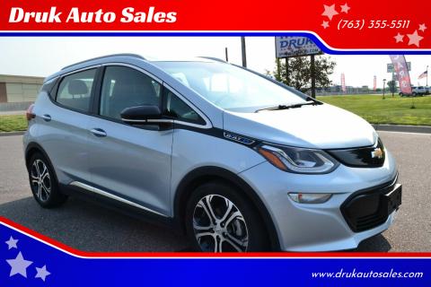 2017 Chevrolet Bolt EV for sale at Druk Auto Sales in Ramsey MN