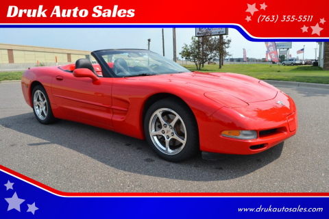 2003 Chevrolet Corvette for sale at Druk Auto Sales in Ramsey MN