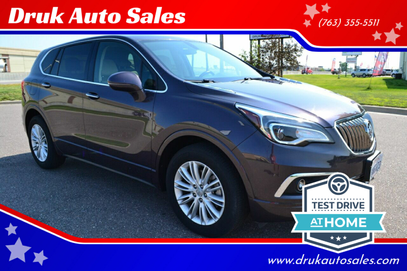 2017 Buick Envision for sale at Druk Auto Sales in Ramsey MN