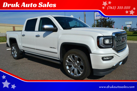 2017 GMC Sierra 1500 for sale at Druk Auto Sales in Ramsey MN