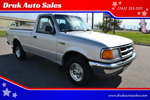 1996 Ford Ranger for sale at Druk Auto Sales in Ramsey MN