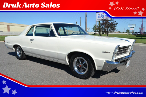 1965 Pontiac Tempest for sale at Druk Auto Sales in Ramsey MN