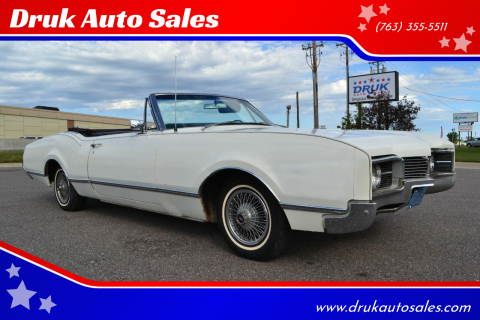 1967 Oldsmobile Eighty-Eight for sale at Druk Auto Sales in Ramsey MN