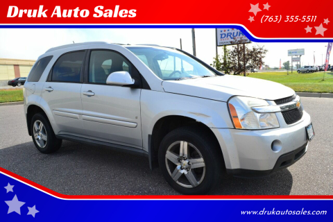2009 Chevrolet Equinox for sale at Druk Auto Sales in Ramsey MN