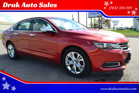 2015 Chevrolet Impala for sale at Druk Auto Sales in Ramsey MN