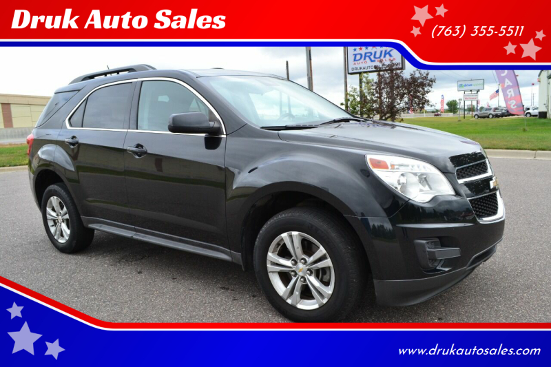 2015 Chevrolet Equinox for sale at Druk Auto Sales in Ramsey MN