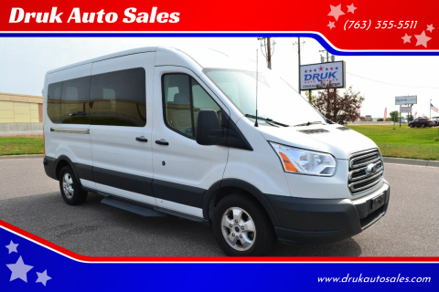 2018 Ford Transit Passenger for sale at Druk Auto Sales in Ramsey MN