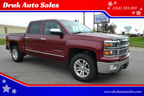 2014 Chevrolet Silverado 1500 for sale at Druk Auto Sales in Ramsey MN