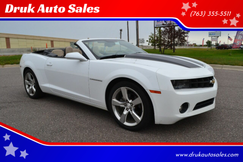 2012 Chevrolet Camaro for sale at Druk Auto Sales in Ramsey MN