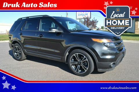2015 Ford Explorer for sale at Druk Auto Sales in Ramsey MN