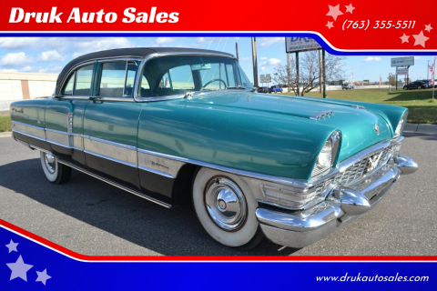 1955 Packard Patrician for sale at Druk Auto Sales in Ramsey MN