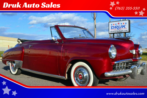 1948 Studebaker Champion for sale at Druk Auto Sales in Ramsey MN