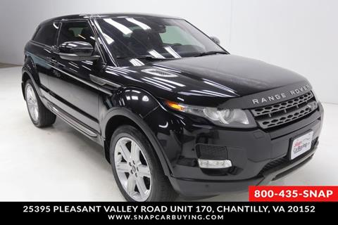 2013 Land Rover Range Rover Evoque Coupe for sale in Chantilly, VA